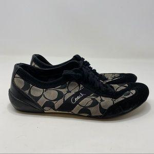 Coach Women's Black Sneakers Size 8 A131
